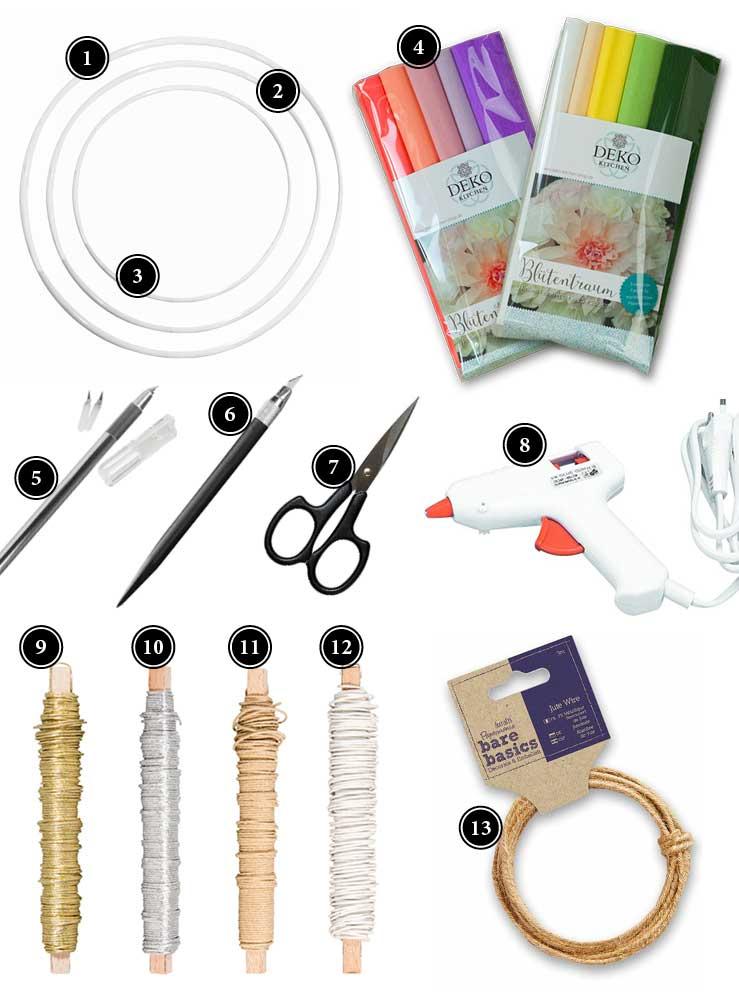 Passende Produkte für Papierblüten im Deko-Kitchen Onlineshop