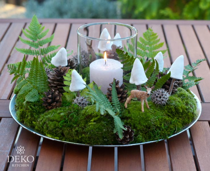 DIY: Herbstkranz aus Naturmaterial von Deko-Kitchen