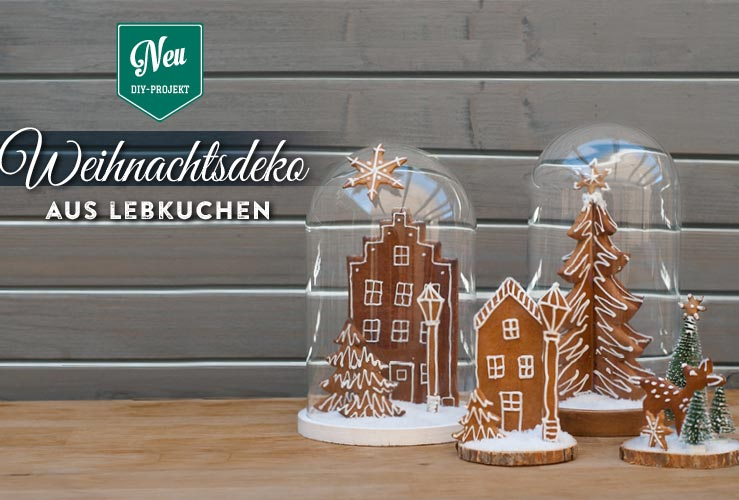 DIY: süße Weihnachtsdeko aus Lebkuchen