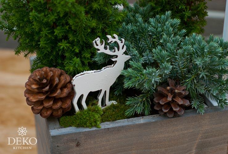 DIY: Blumenkästen wunderschön weihnachtlich gestalten Deko-Kitchen