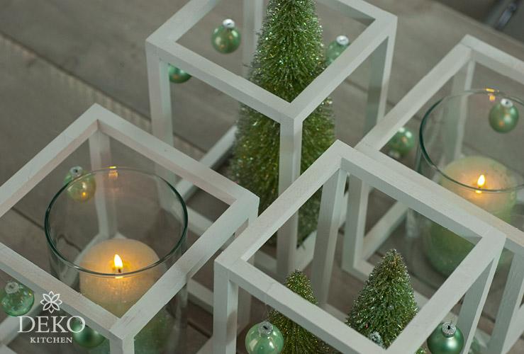 DIY: stylische Weihnachtsdeko mit Holz-Cubes